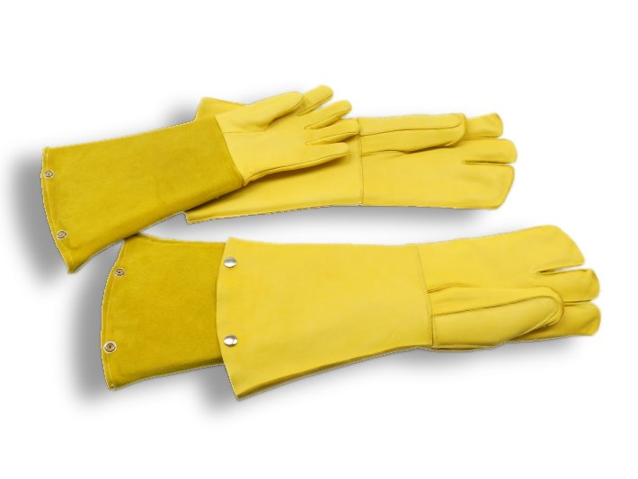 double safety glove